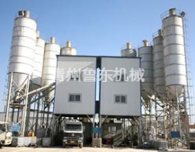 HZS90标准型混凝土搅拌楼