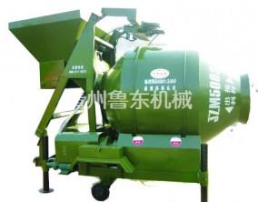 JZM500爬斗上料搅拌机