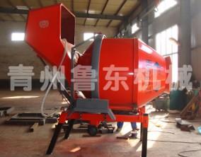 JZC350H液压上料搅拌机