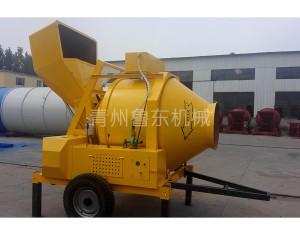 JZR500全柴油机液压油缸上料搅拌机