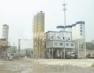 HZS120 Standard Concrete Mixing Tower