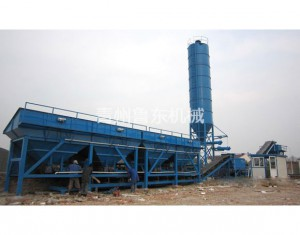 WDB500 stabilized soil mixing station