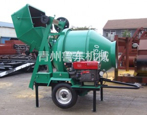 JZR350 diesel electric mixer