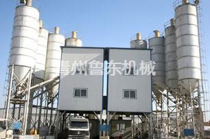 现代混凝土搅拌站设备生产现场如何做到粉尘控制